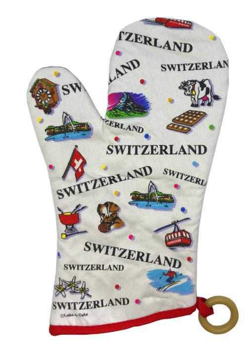 Gant de cuisine croix suisse