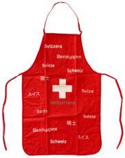 Tablier avec croix suisse