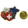 Pin's fleur suisse