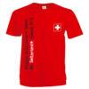 T shirt croix suisse