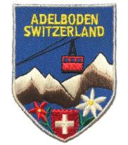 Adelboden écusson brodé