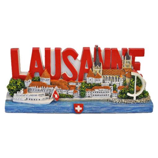Aimant Miniature de Lausanne pour frigo