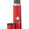Bouteille thermos croix suisse