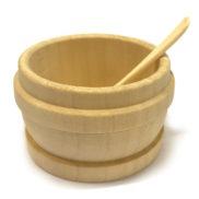 Petit pot bac en bois suisse creme - Seillon