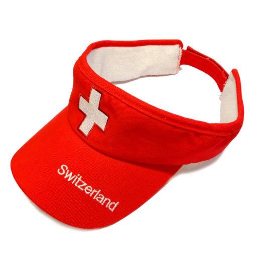 Visière croix suisse