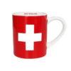 Tasse expresso croix suisse