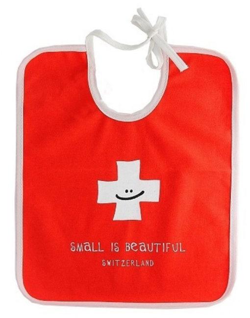 Bavoir suisse pour bébé