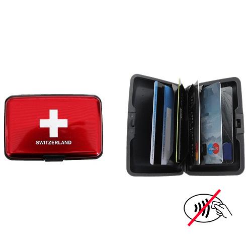 Porte Cartes De Crédit Croix Suisse