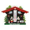 Magnet aimant chalet suisse thermomètre