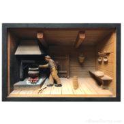 Cadre bois 3D