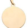 Plaquette gourmette chien collier personnalise doré
