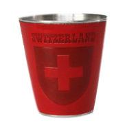 Verre à shot liqueur suisse