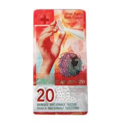 Magnet aimant billet banque suisse 20 francs chf