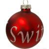 Boule de Noel suisse