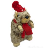 Peluche marmotte chante yodle jodle