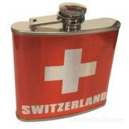 Flasque flask croix suisse
