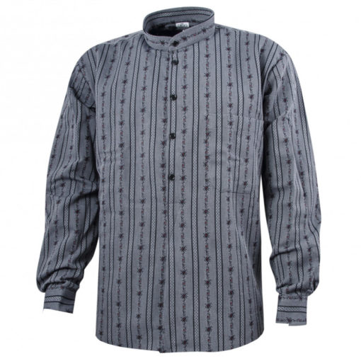 Chemise edelweiss suisse paysan