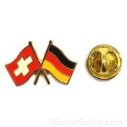 pins suisse allemagne drapeau
