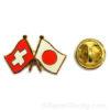 pins suisse japon drapeau