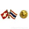pins suisse thailand drapeau