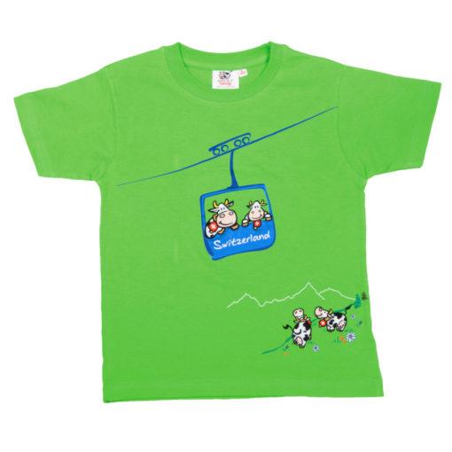 Tshirt poya suisse vert