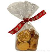 Chocolat forme piece monnaie suisse