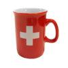 Tasse espresso croix suisse