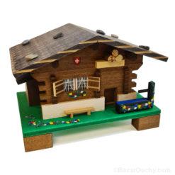 Chalet à musique suisse en bois