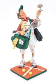 Joueur de tennis - Figurine statue FO 84008