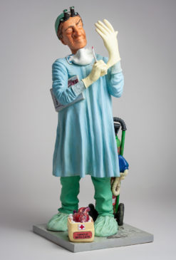 Statue Figure Chirurgien FO85548