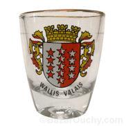Verre à liqueur Valais Wallis