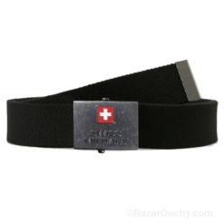 Ceinture Swiss Military noir money belt