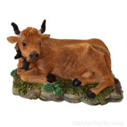 Vache suisse figurine