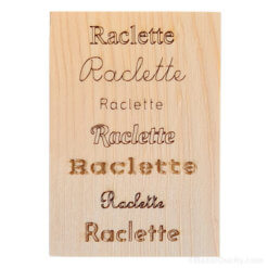 Support raclette - Suisse