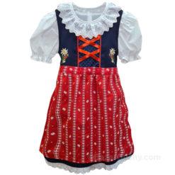 Robe traditionnel suisse folklorique Dirndl