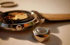 Changement piles de montres